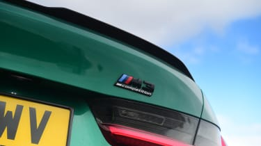 BMW M3 Competition - badge