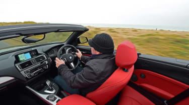 BMW M240i long term first report - Steve Sutcliffe driving