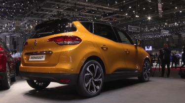 Renault Scenic Geneva - rear three quarter