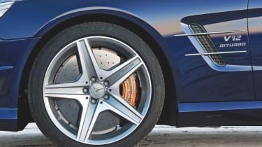 Mercedes SL65 AMG detail