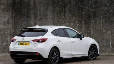 Mazda 3 Sport Black rear side static