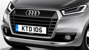 Audi A0 detail