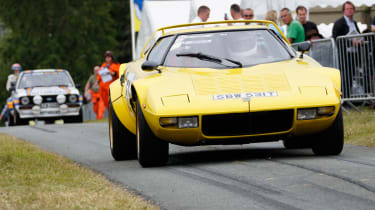 The Lancia Stratos was the first car designed only to win rally events - and it dominated the sport in the mid-seventies.