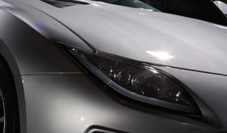 Toyota GRMN FR Sports Concept Platinum front teaser