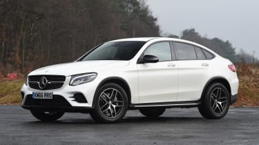 Mercedes GLC Coupe - front static
