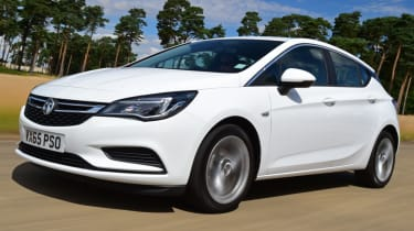 Vauxhall Astra front