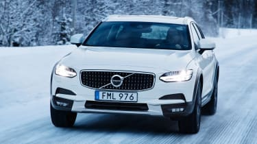 Volvo V90 Cross Country 2017 - front tracking