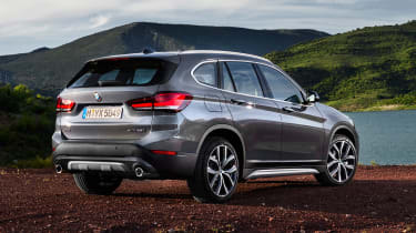 BMW X1 - rear off-road