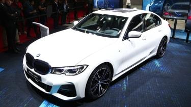 BMW 3 Series - Paris front
