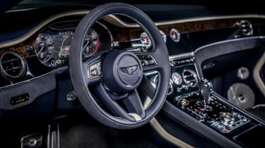 Bentley Continental GT Speed convertible - interior