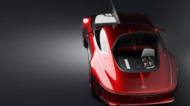 Mercedes-Maybach 6 concept coupe - studio overhead 2