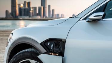Audi e-tron - charging point