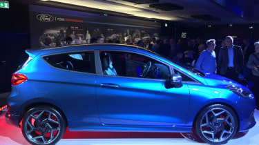 Ford Fiesta ST show - side