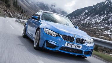 BMW M4 - driving