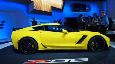 Chevrolet Corvette Z06 – You can get a standard 'Vette in the UK but not this supercharged Z06, producing at least 625bhp