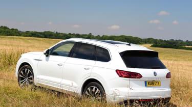 Volkswagen Touareg - rear static