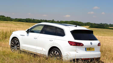 Volkswagen Touareg - rear static
