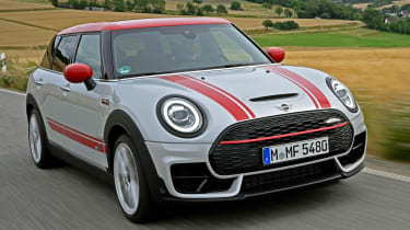 MINI Clubman JCW - front tracking