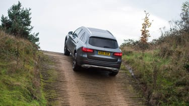 Mercedes GLC long-term test - uphill