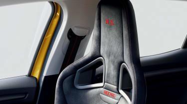 Renault Megane RS seat