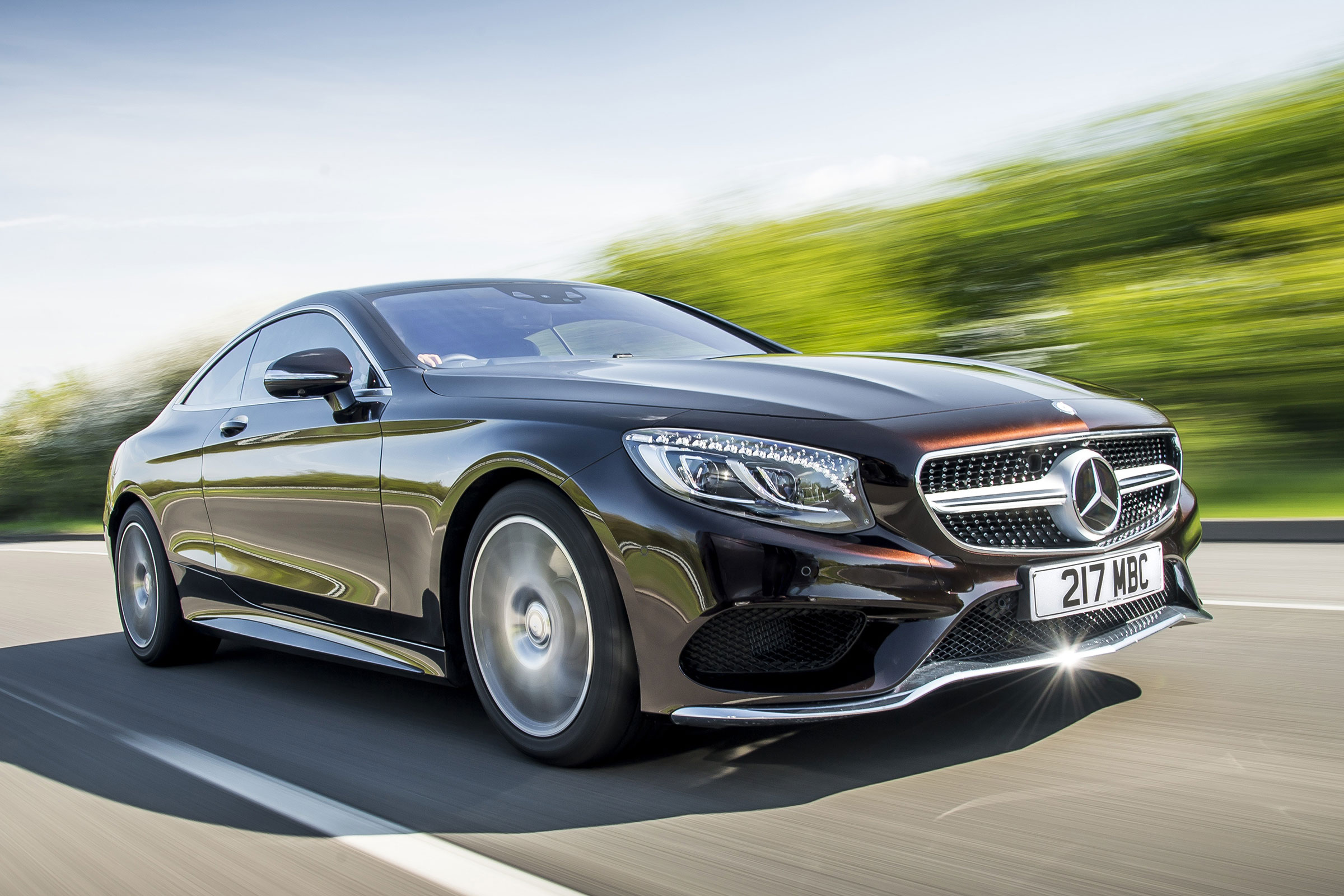 Mercedes S500 Coupe review | Auto Express