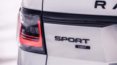 Range Rover Sport HST - rear badge