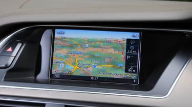 Audi A4 Screen