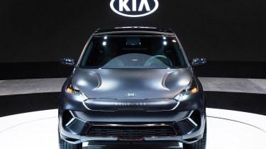 Kia Niro EV - CES full front