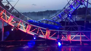 Jaguar F-Pace loop-the-loop side
