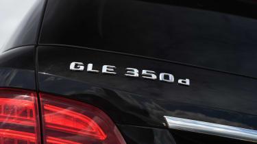 Mercedes GLE 350d - model badge