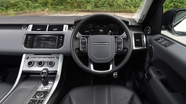 Used Range Rover Sport - dash