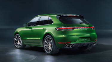 Porsche Macan Turbo - rear