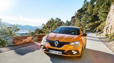 Renault Megane R.S. - front panning
