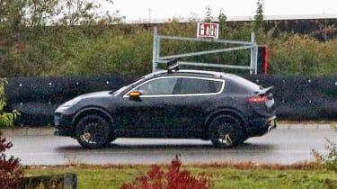 Porsche Macan EV - spied