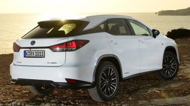Lexus 450h F Sport - rear 3/4 static