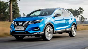 New Nissan Qashqai facelift - front