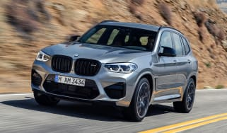 BMW X3 M Competition - front
