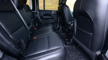 Jeep Wrangler - rear seats