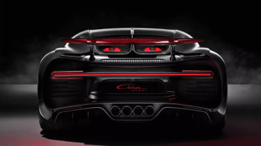Bugatti Chiron-Sport rear end