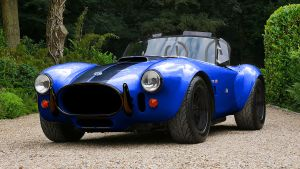 New battery-powered AC Cobra Series 4-electric launched - black grille