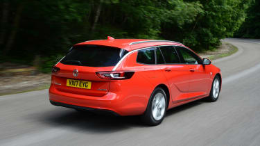 Vauxhall Insignia Sports Tourer - rear action
