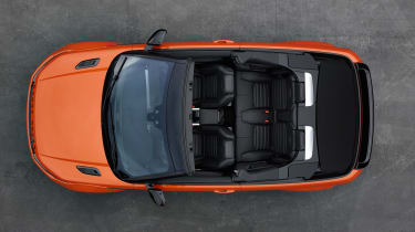Range Rover Evoque Convertible top view