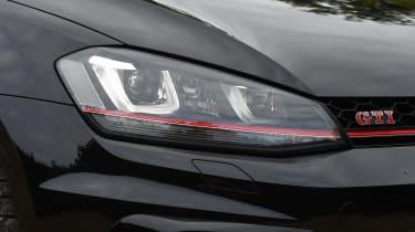 Volkswagen Golf GTI Clubsport UK 2016 - headlight