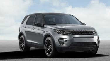Land Rover Discovery Sport front static