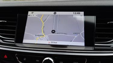 Vauxhall Insignia GSi Sports Tourer - sat-nav