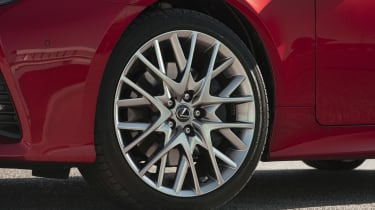 Lexus RC wheel