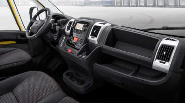 Vauxhall Movano-e - dash