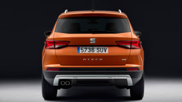 SEAT Ateca SUV 2016 - rear