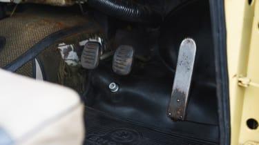 Original Skoda Octavia - pedals