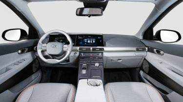 Hyundai NEXO fuel cell SUV - interior